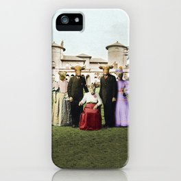 Cowtown Abbey iPhone Case