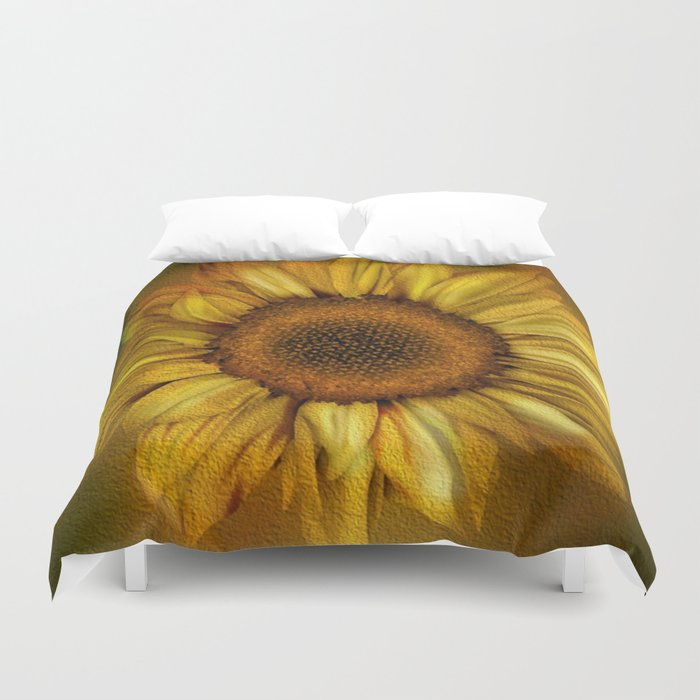 Sunflower - Vintage Duvet Cover