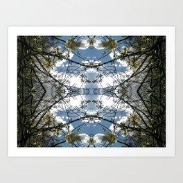 Cloudsphere Art Print