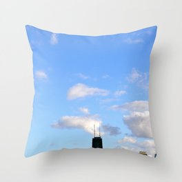 Chicago Sky Throw Pillow
