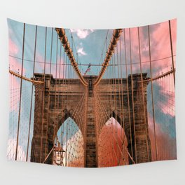 Brooklyn Bridge New York City Wall Tapestry