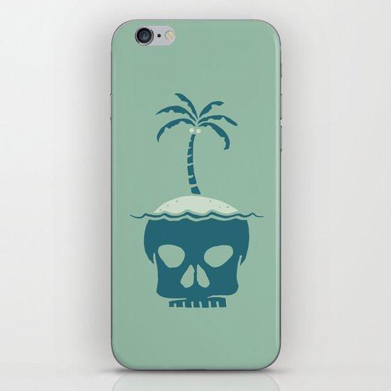 Skull Island – Green iPhone Skin