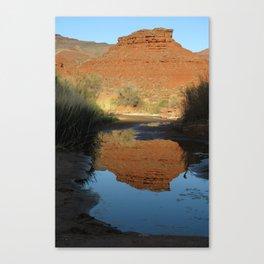 campsite on the San Juan River Canvas Print