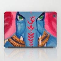 ganesh iPad Cases featuring Ganesh by Jaclyn Sage