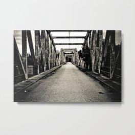 Au bout du pont. (VACANCY Zine) Metal Print