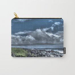 dark sky and rocks Carry-All Pouch