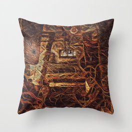 df-56 Throw Pillow