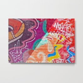 City Glyphs II Metal Print