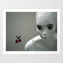 sad eyes | traurige Augen Art Print