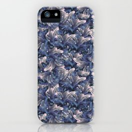 Pinky Palm Tree Pattern iPhone Case