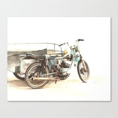 Pedicab Canvas Print