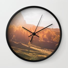 Dolomites 22 - Italy Wall Clock