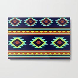 Azteca Metal Print