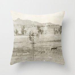 """Vintage Valley"" by Murray Bolesta! Throw Pillow"