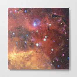 Fires of Space Metal Print