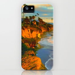 Laguna Beach California iPhone Case