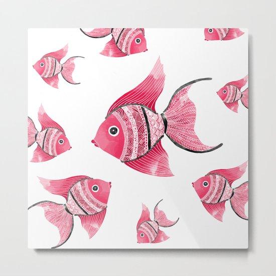 Coral fishes Metal Print