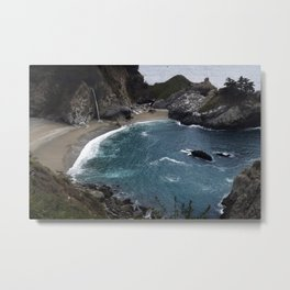 Pfeiffer Beach at Big Sur Metal Print