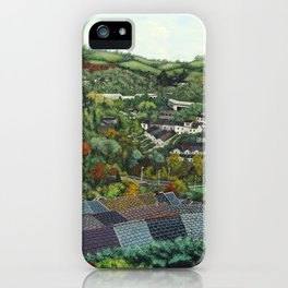 Pontypridd (featuring Sardis Road Rugby Ground) iPhone Case