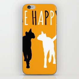 Two funny cats iPhone Skin