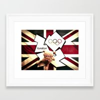 patriotic Framed Art Prints featuring Patriotic Palin by Palin