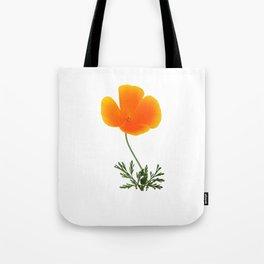 orange poppy Tote Bag