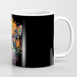 Camel Face Color Splashes Coffee Mug