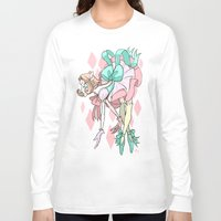 magical girl Long Sleeve T-shirts featuring Magical Girl Pearl by IdentityPollution
