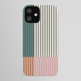 Color Block Line Abstract V iPhone Case