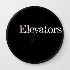 Elevators Wall Clock