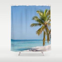 los roques secret Shower Curtain