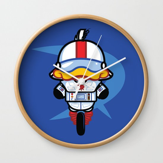 Hello Gizmo Wall Clock