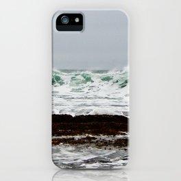 Green Wave Breaking iPhone Case