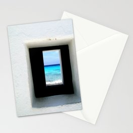 Portal to the Ocean, Bonaire  Stationery Cards