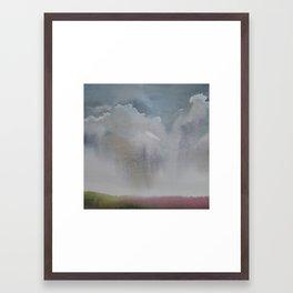 Wet sky Framed Art Print
