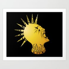 Rock It Art Print