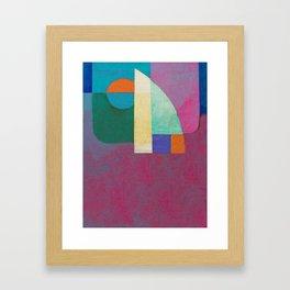 Una Regata Colorata Framed Art Print