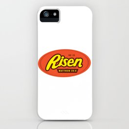 He Is Risen - Matthew 28:6 iPhone Case