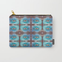 Bird Song Pattern Carry-All Pouch