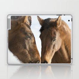 Two Western Horses Laptop & iPad Skin