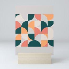 Mid Century Geometric 17 Mini Art Print