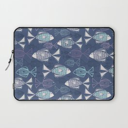 Here, Fishy Fishy Laptop Sleeve