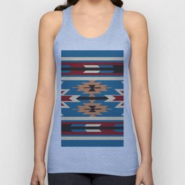 American Native Pattern No. 76 Unisex Tank Top