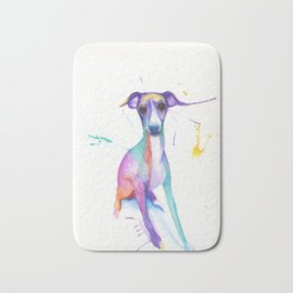 June (The Italian Greyhound) Bath Mat