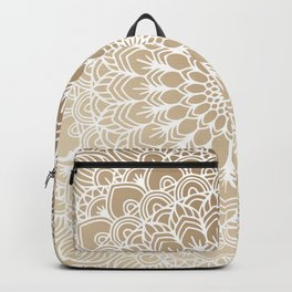 Gold Mandala 19 Backpack