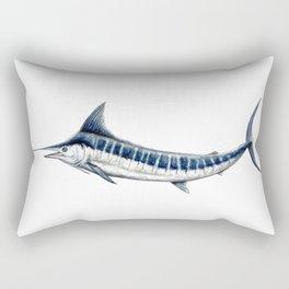 Blue Marlin (Makaira nigricans) Rectangular Pillow