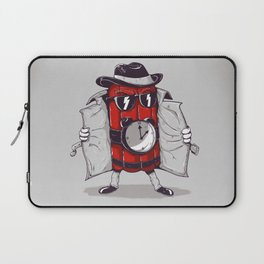 what time is it? it's time to explode Laptop Sleeve