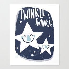 Twinkle Twinkle Canvas Print