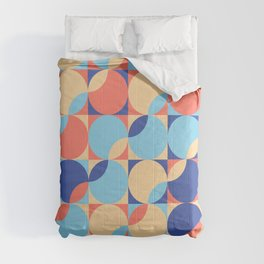 mid century bold_video palette Comforters