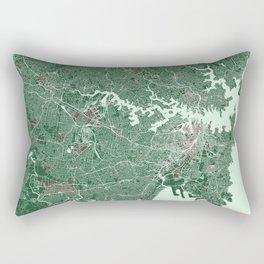 Sydney, Australia street map Rectangular Pillow